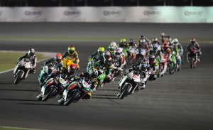SuperSports 600cc race in Qatar